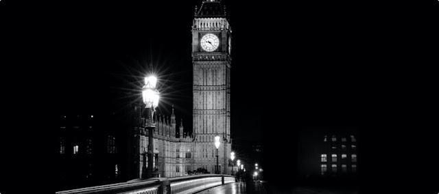 Big Ben under lockdown