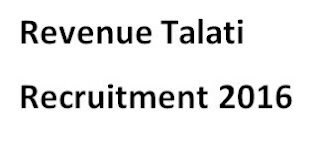 Revenue Talati Recruitment 2016