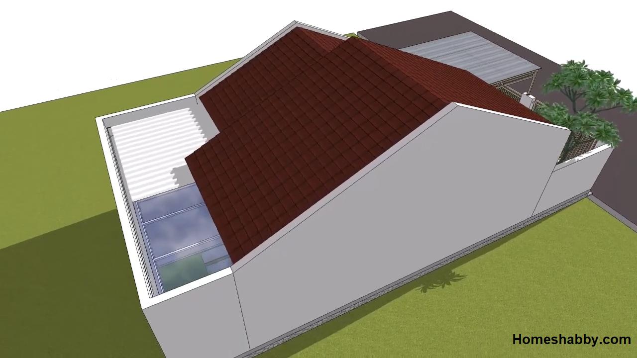 Desain Dan Denah Renovasi Halaman Rumah Minimalis Type 36 72 Lengkap Dengan Rab Nya Homeshabby Com Design Home Plans Home Decorating And Interior Design