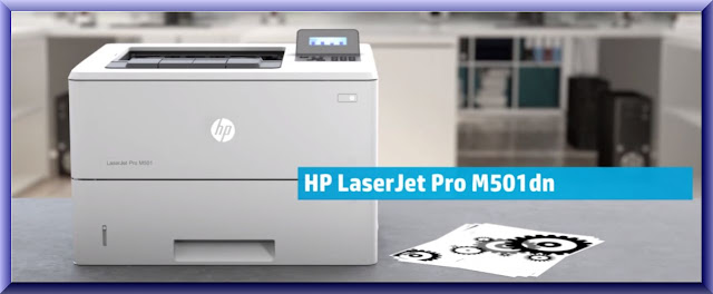 HP LaserJet Pro M501 Wireless Setup