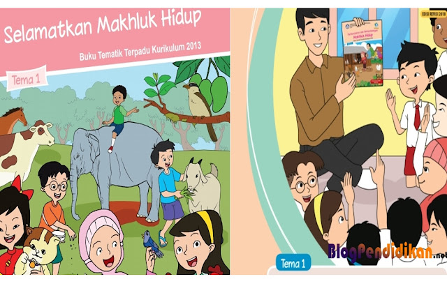 Buku Guru dan Buku Siswa Kurikulum 2013 SD Kelas 1, 2, 3, 4, 5, dan 6
