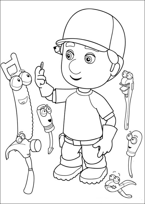 99+ Best Handy Manny Character Names on coloringkidsnow.download