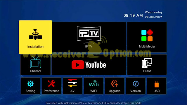 DISCOVERY DR-555HD X9 MAX 1506TV 512 4M NEW SOFTWARE WITH SIGNAL ZOOM OPTION 26 SEPTEMBER 2021