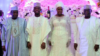 Governor of sokoto state, Governor Tambuwal whose daughter aisha was about to get married, marriage pictures and what really happened at the wedding and the wedding pre-party