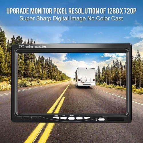 DVKNM TZ101 Upgrade Backup Camera Monitor Kit
