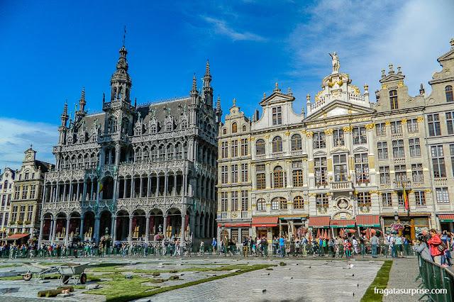 Tapete de flores da Grand Place de Bruxelas, Bélgica