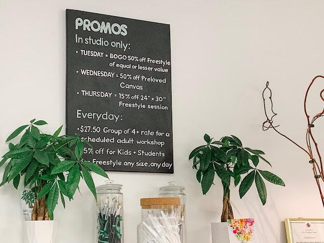 In studio promos