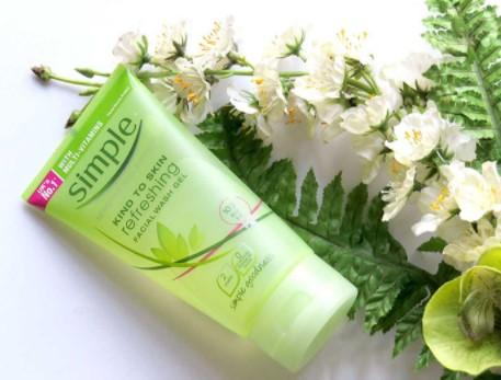 sua rua mat Simple Refreshing Facial Wash
