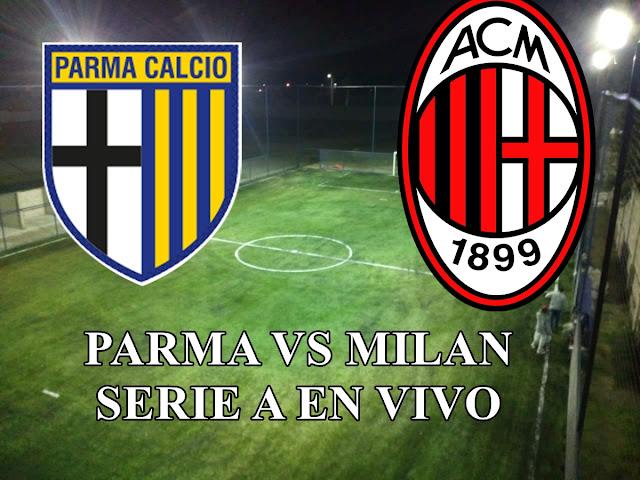 Parma vs AC Milan en vivo Serie A