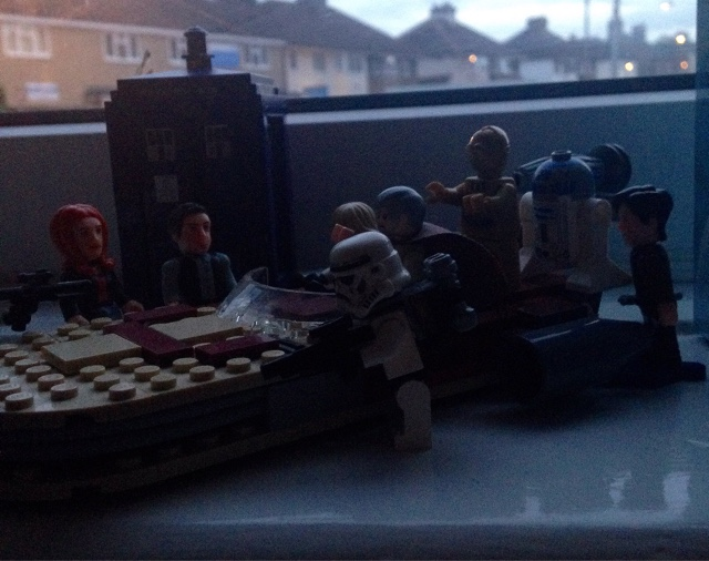 Dr Who and Star Wars Lego