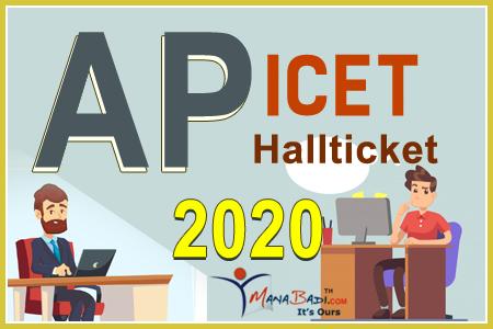 AP ICET Halltickets 2020