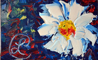 http://www.ebay.com/itm/Shady-Daisy-Mini-Floral-Oil-Painting-Paper-Contemporary-Artist-France-2000-Now-/291764661754?ssPageName=STRK:MESE:IT