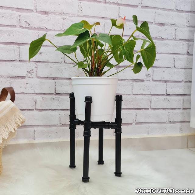 decoração com canos de pvc