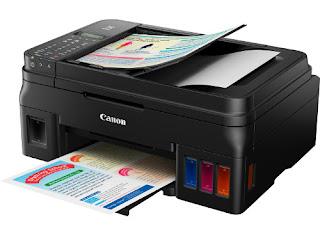 The latter is composed of pigmented ink Canon Pixma G4500 Driver Download