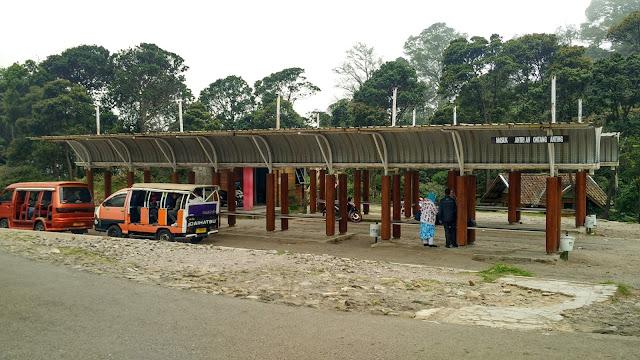 untang anting Kawah Putih Ciwidey Bandung