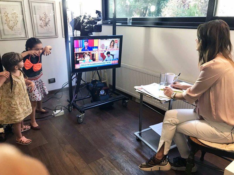 María Luisa Godoy conduce el matinal de TVN desde su casa