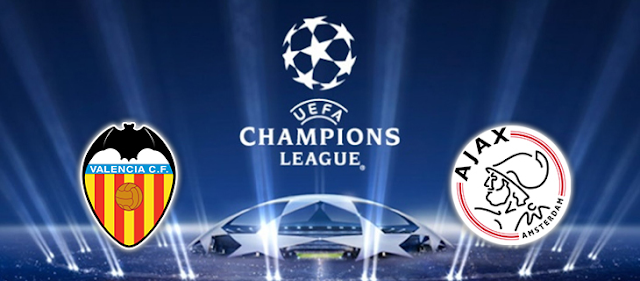 مشاهدة مباراة فالنسيا وأياكس أمستردام بث مباشر بتاريخ 02-10-2019 دوري أبطال أوروبا
