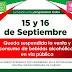 Ixtapaluca anuncia Ley Seca el 15 y 16 de Septiembre