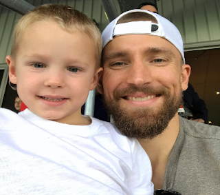 Blake Wheeler With His Son Png
