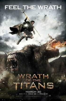 Wrath of The Titans 2012 Dual Audio Hindi 300MB BluRay 480p