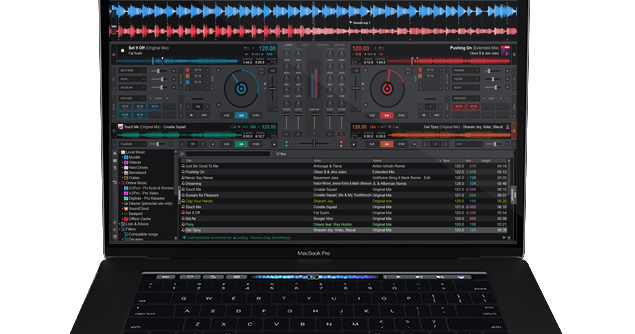 Dj software for macbook pro