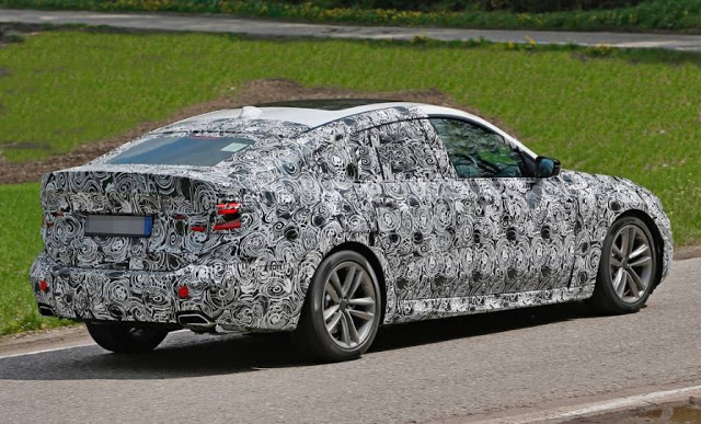 2018 New BMW 5Series GT Spotted Photo, and Review Specs