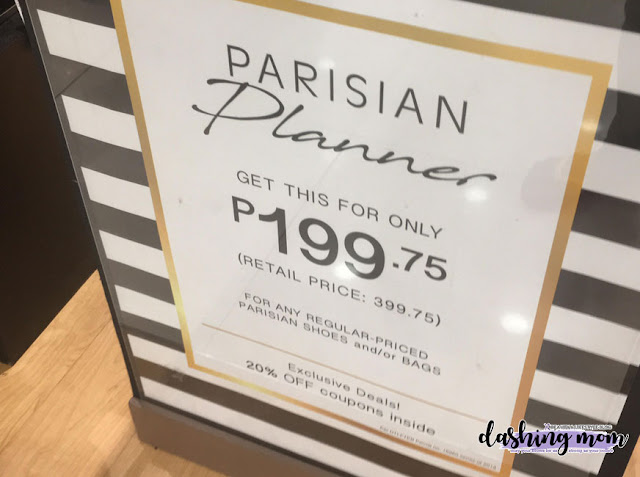Parisian Shoes and Bags Planner 2019 Banner