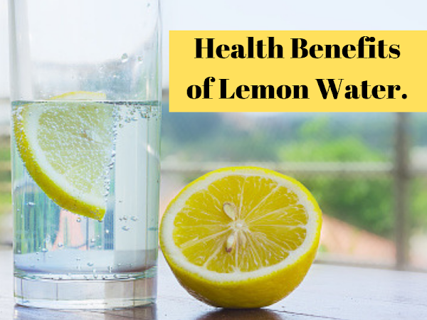 7 HEALTHY BENEFITS OF LEMON WATER