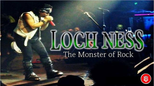 Poster Lochness Band saat manggung