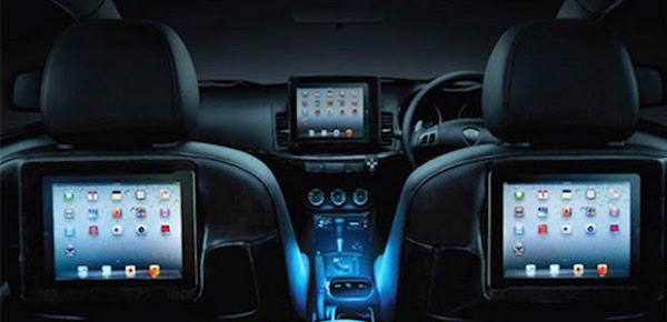 Mobil yang dilengkapi dengan fitur Wi Fi Internet