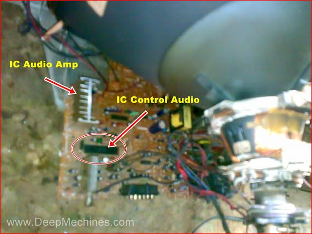Kerusakan Audio (Suara) TV LG 21-Inch (21FC1AG-TH)