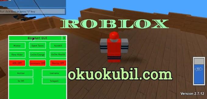 Roblox 2.7.12 Blox Hunt Para, Enerji Script Hilesi İndir 2020