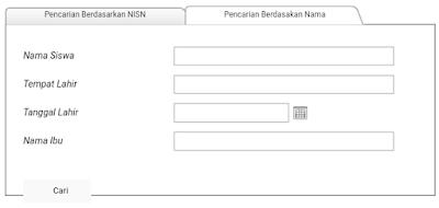 mencari nomor NISN