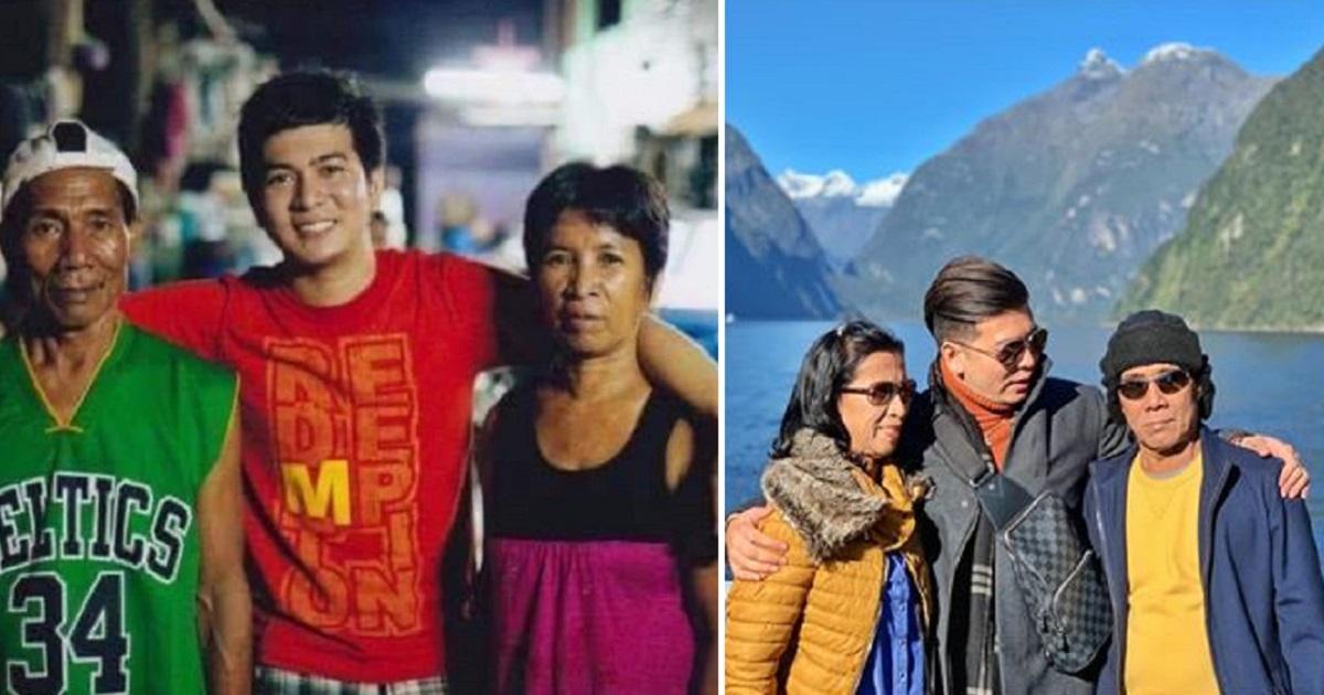 Young man gives back to adoptive parents, shares inspiring story