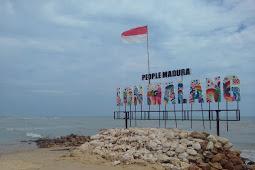 Ikon Wisata Pantai Sampang Utara