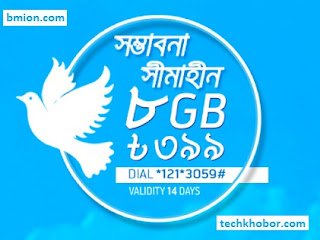 Grameenphone-GP-8GB-14Days-399Tk-Dial-*121*3059#