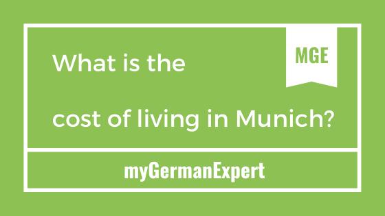 Munich Living Cost
