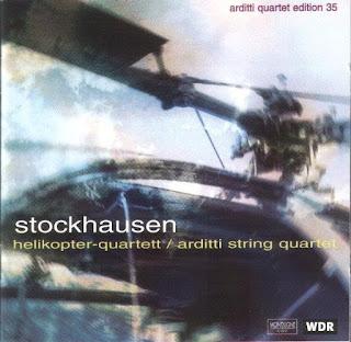 Karlheinz Stockhausen, Helikopter-Streichquartett, Arditti Quartet