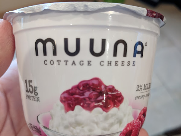 Enjoy a Sweet and Savory Treat with Muuna Cottage Cheese #review