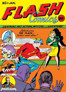 Flash Comics (1939) #1 Cover