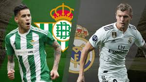 Watch Real Betis vs Real Madrid live Stream video online Today 13/1/2019 Primera Division