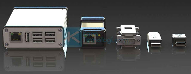 Keylogger perangkat keras atau hardware keylogger adalah perangkat yang dapat merekam jejak digital pada komputer atau segala jenis perangkat yang memiliki port USB. Alat keylogger akan dicolokkan kepada port USB agar bisa segera merekam segala aktivitas yang dilakukan pada perangkat yang terhubung kemudian disimpan pada alat keylogger tersebut.
