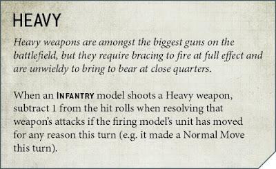 armas pesadas en 9a edición
