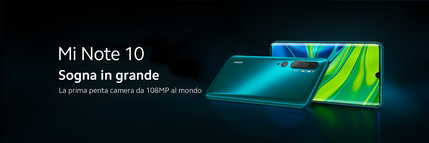 Nuovi Xiaomi Mi Note 10 e Redmi Note 8T | Video