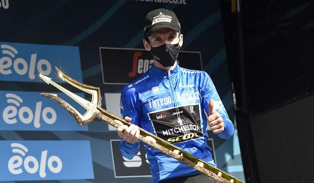 Simon Yates es el primer británico laureado en la Tirreno Adriático