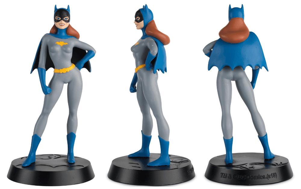 batman the animated series figurines collection, colección de figuras batman la serie animada, eaglemoss collections, hero collector, batgirl figurine, batichica