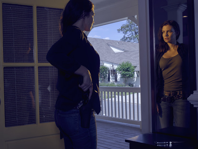 Lauren Cohan como Maggie Greene – The Walking Dead _ temporada 6, Gallery – Photo Credit: Frank Ockenfels 3/AMC