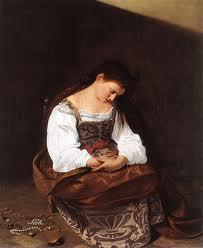 Caravaggio - María Magdalena