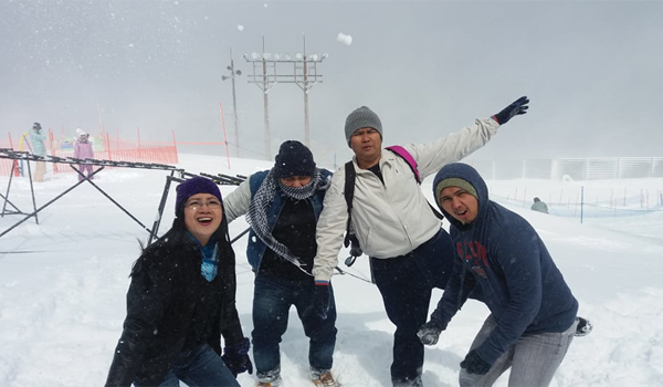 top of Biwako Valley Ski Resort