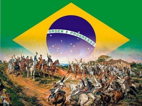 Animação com resumo da História do Brasil